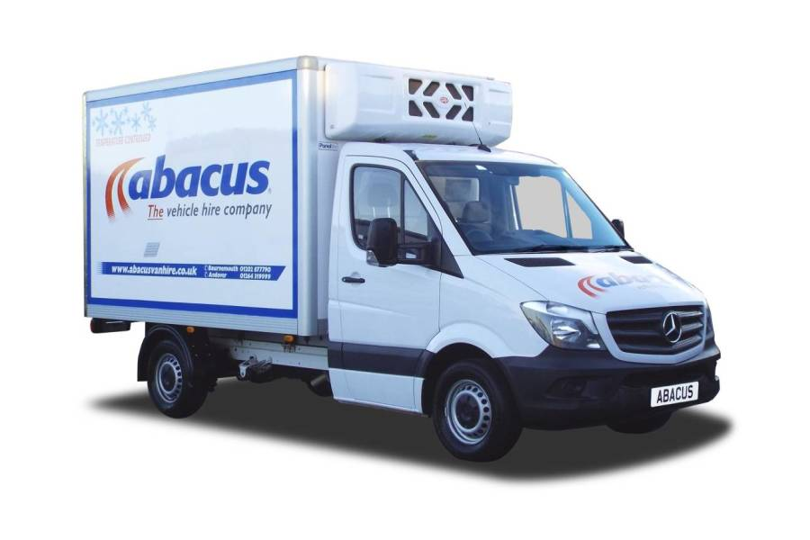 3.5T Refrigerated  Box Van for hire from Abacus Vehicle Hire
