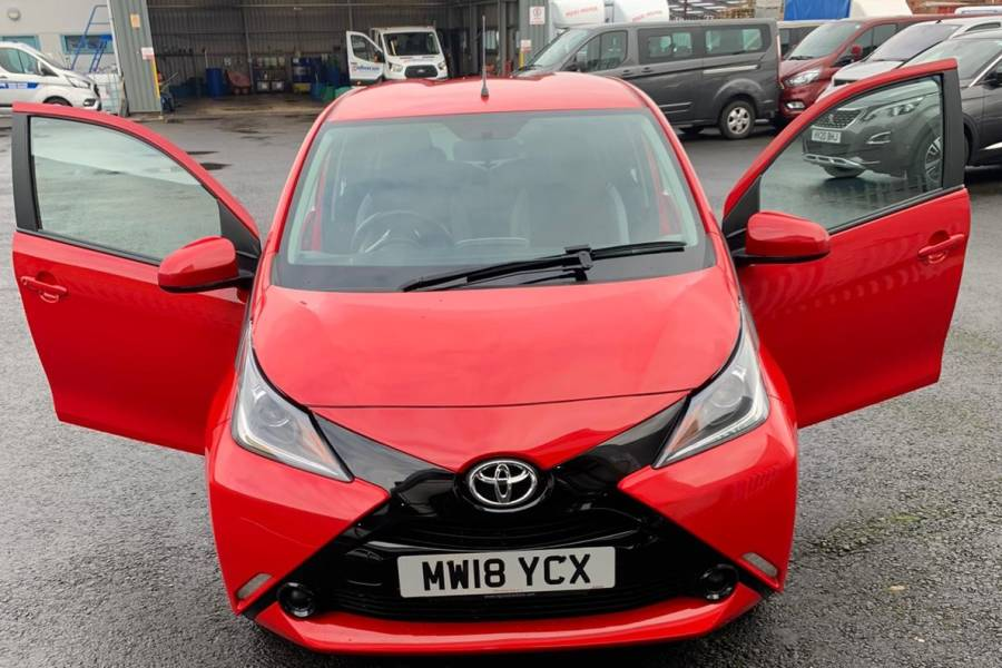 Toyota Aygo for sale from Abacus Vehicle Hire
