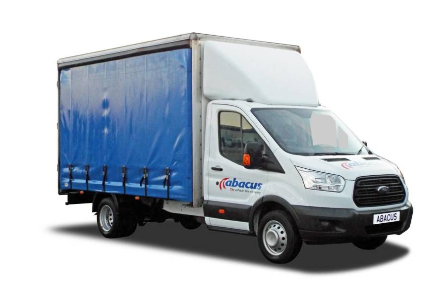 3.5T Curtainside Tail Lift from Abacus Vehicle Hire