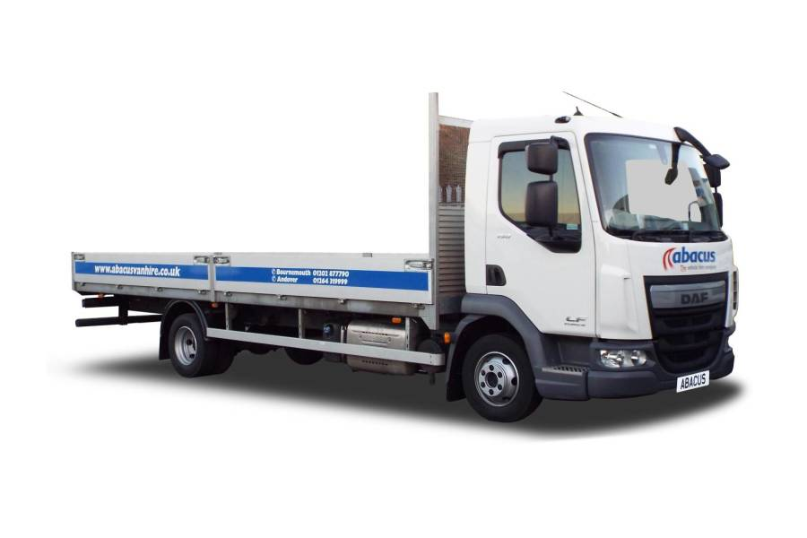 7.5T Dropside - from Abacus Vehicle Hire