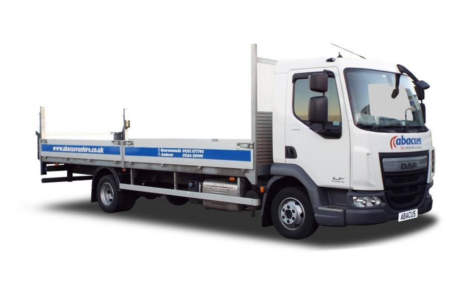 7.5T Dropside Tail Lift from Abacus Vehicle Hire