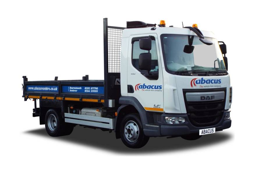 7.5T Tipper Drop Pin Tow Bar for hire from Abacus Vehicle Hire