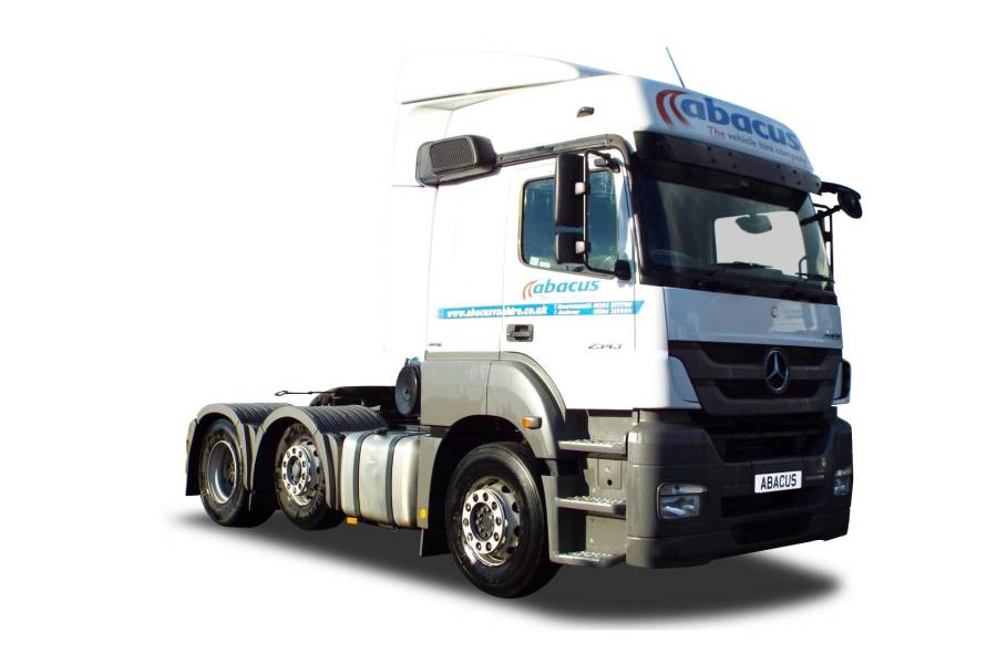 6x2 Tractor Unit for hire from Abacus Vehicle Hire